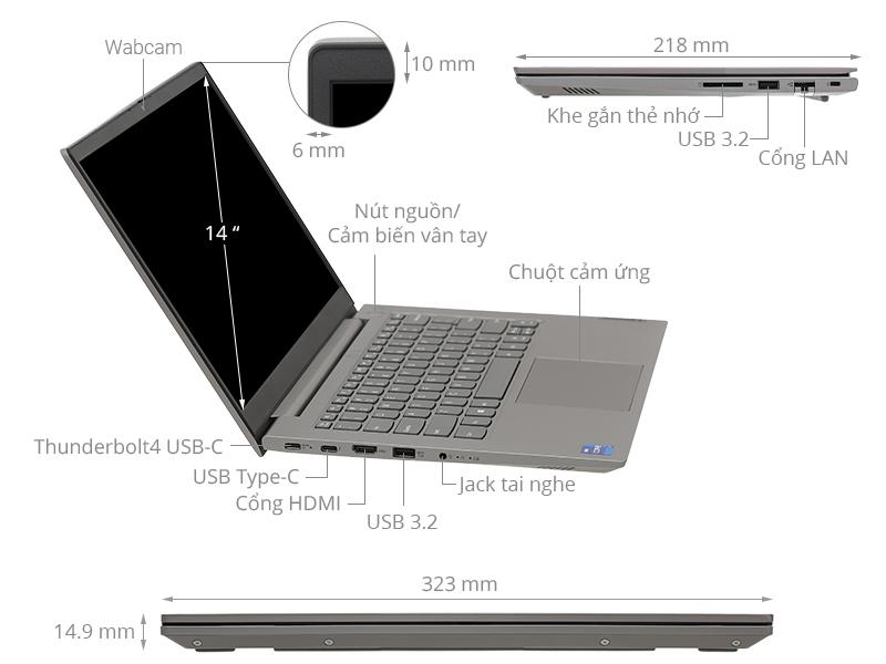 Lenovo ThinkBook 14 G2 ITL i7 1165G7/8GB/512GB/Win10 (20VD003LVN)