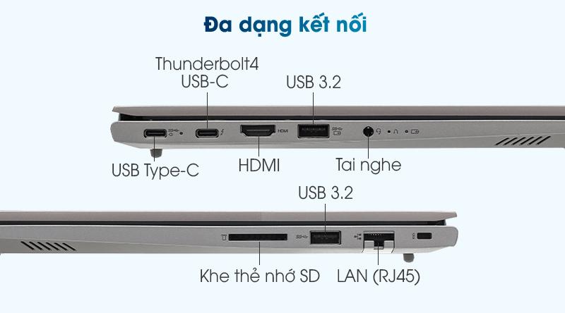 Lenovo ThinkBook 14 G2 ITL i7 1165G7 (20VD003LVN) - Cổng kết nối