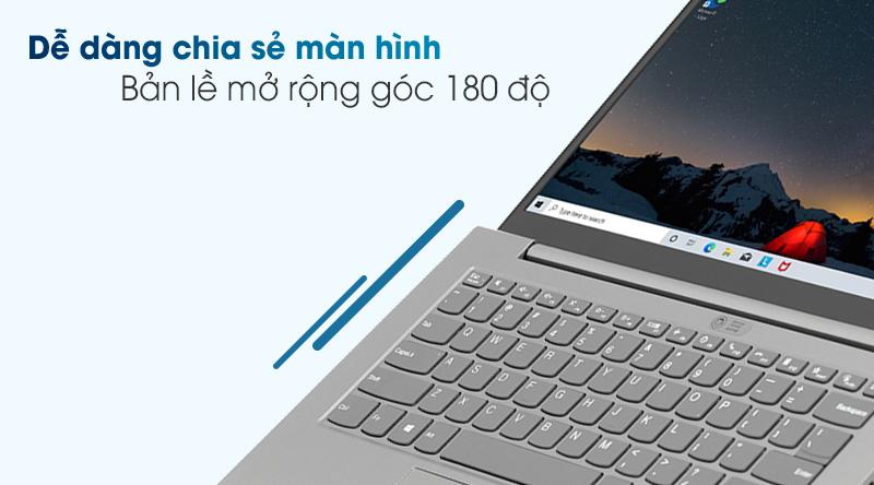 Lenovo ThinkBook 14 G2 ITL i7 1165G7 (20VD003LVN) - Bản lề 180 độ