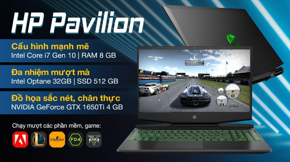 HP Pavilion Gaming 15 dk1159TX i7 10750H (31J36PA)