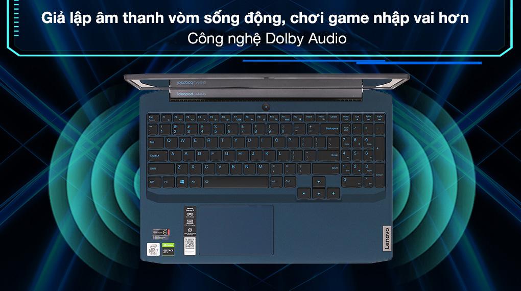 Lenovo Ideapad Gaming 3 15IMH05 i7 10750H (81Y4013UVN) - Âm thanh