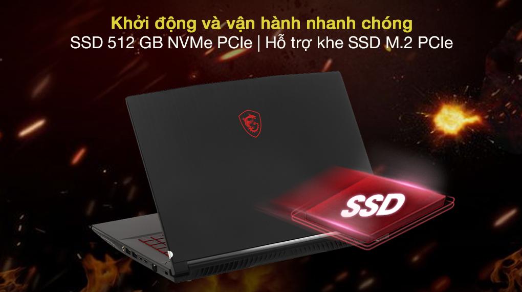 MSI GF65 Thin 10UE i5 10500H (297VN) - SSD