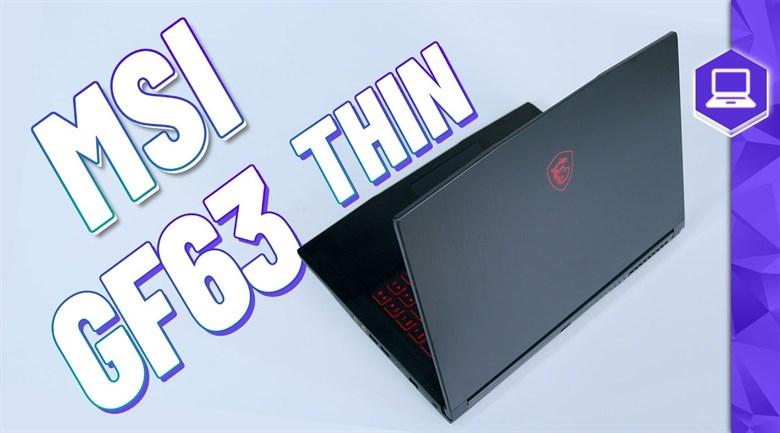 MSI Gaming GF63 10SC i5 10300H (255VN)