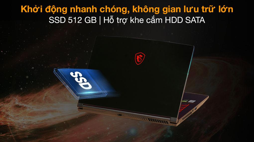 MSI GF63 10SC i5 10300H (255VN) - SSD
