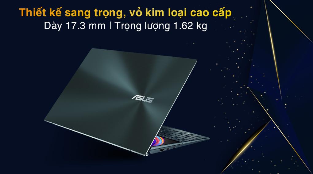 Asus ZenBook UX482EG i5 1135G7 (KA166T) - Thiết kế