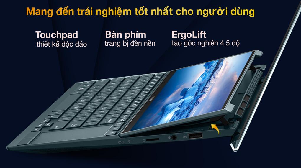 Asus ZenBook UX482EG i5 1135G7 (KA166T) - Tính năng
