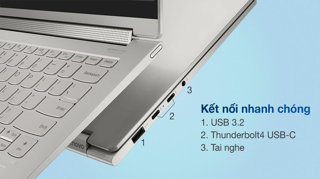 Lenovo Yoga 9i 14ITL5 i7/1185G7 (82BG006EVN) - Cổng kết nối