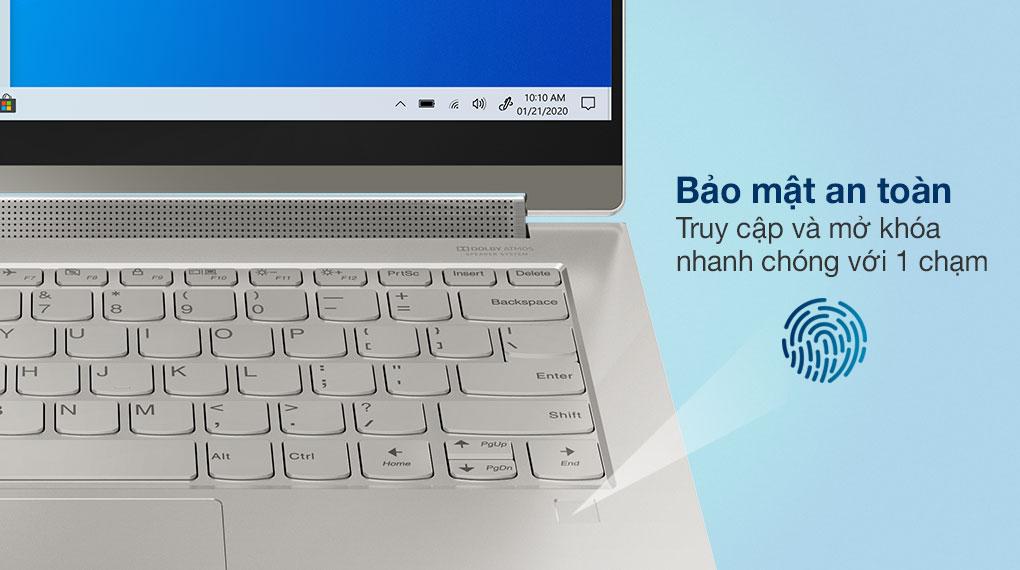 Lenovo Yoga 9i 14ITL5 i7/1185G7 (82BG006EVN) - Bảo mật vân tay