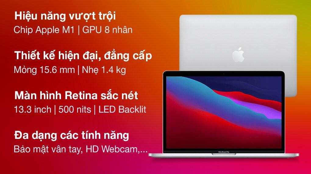 MacBook Pro M1 2020 Silver (MYDA2SA/A)