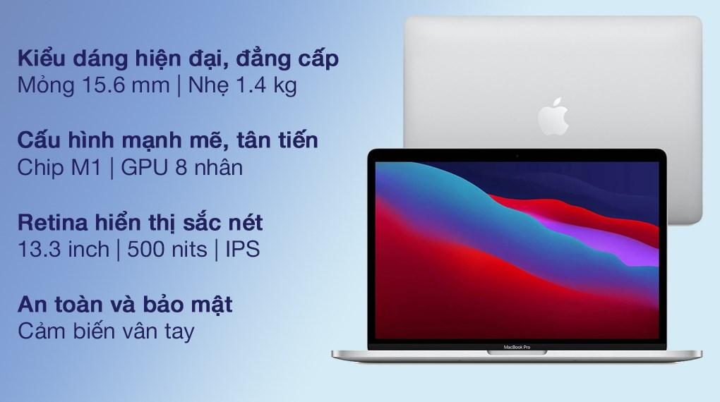 MacBook Pro M1 2020 Silver (MYDC2SA/A)