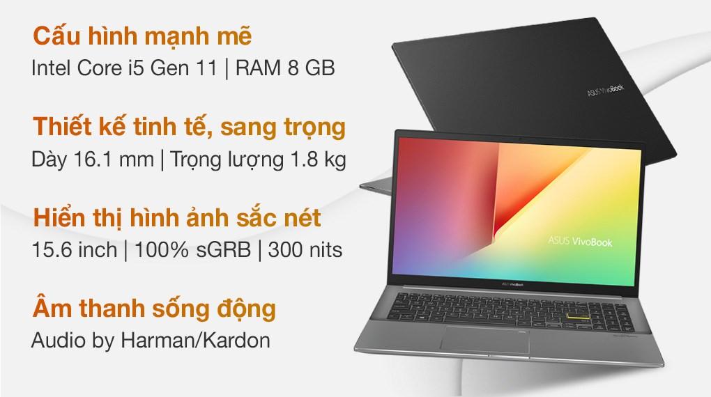 Asus VivoBook S533EQ i5 1135G7 (BN338T)