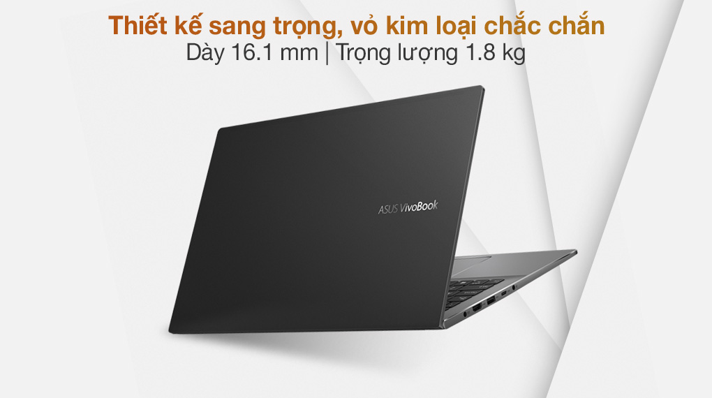 Asus VivoBook S533EQ i5 1135G7 (BN338T) - Thiết kế