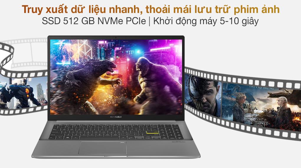 Asus VivoBook S533EQ i5 1135G7 (BN338T) - SSD