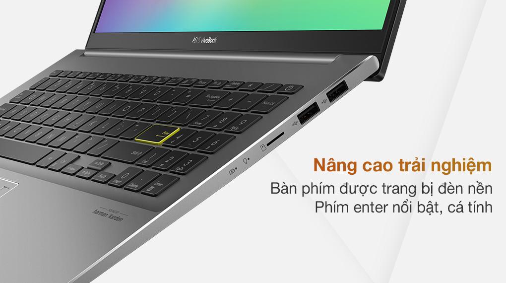Asus VivoBook S533EQ i5 1135G7 (BN338T) - Bàn phím