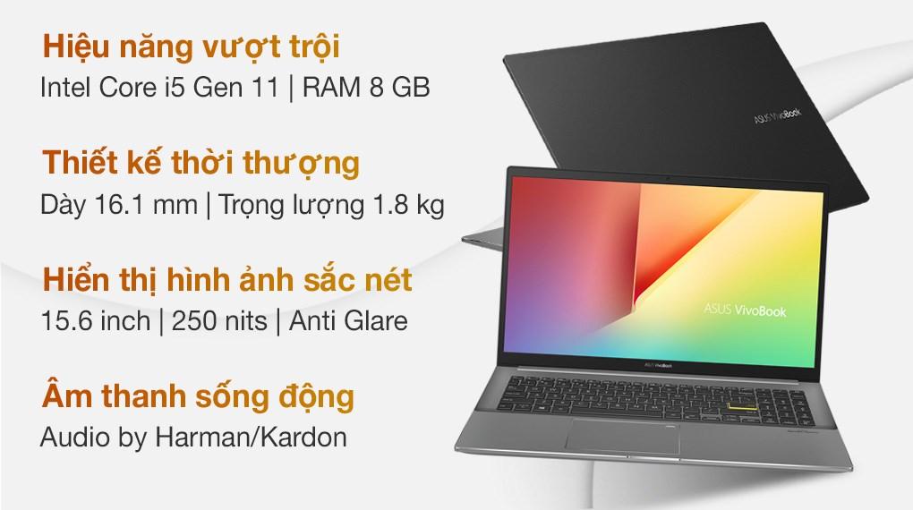 Asus VivoBook S533EQ i5 1135G7 (BQ011T)