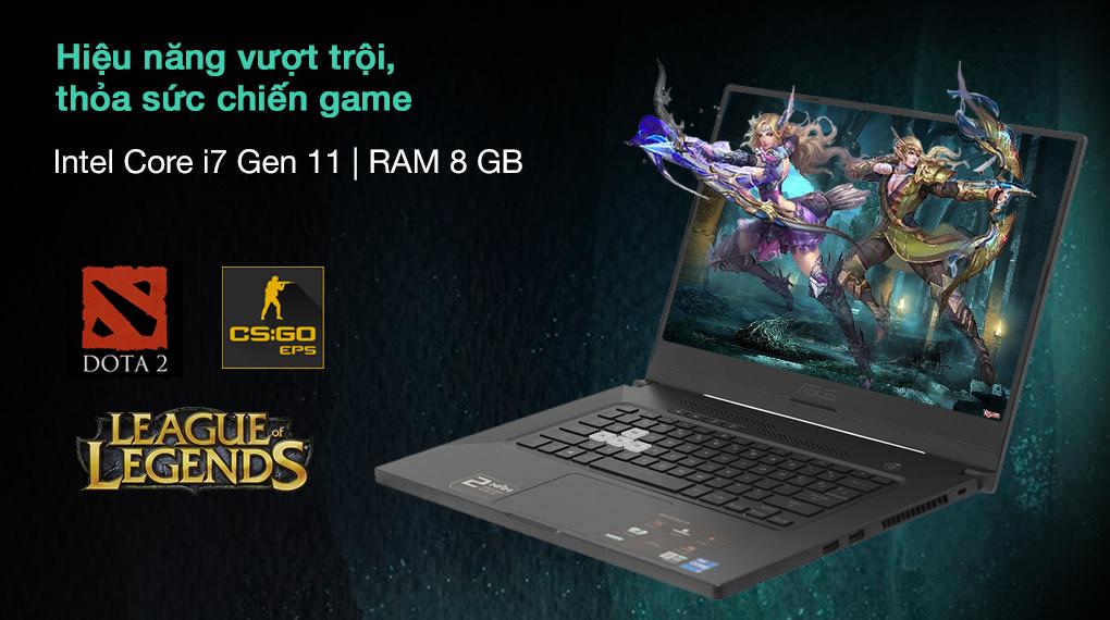 Asus TUF Gaming FX516PE i7 11370H (HN005T) - Cấu hình