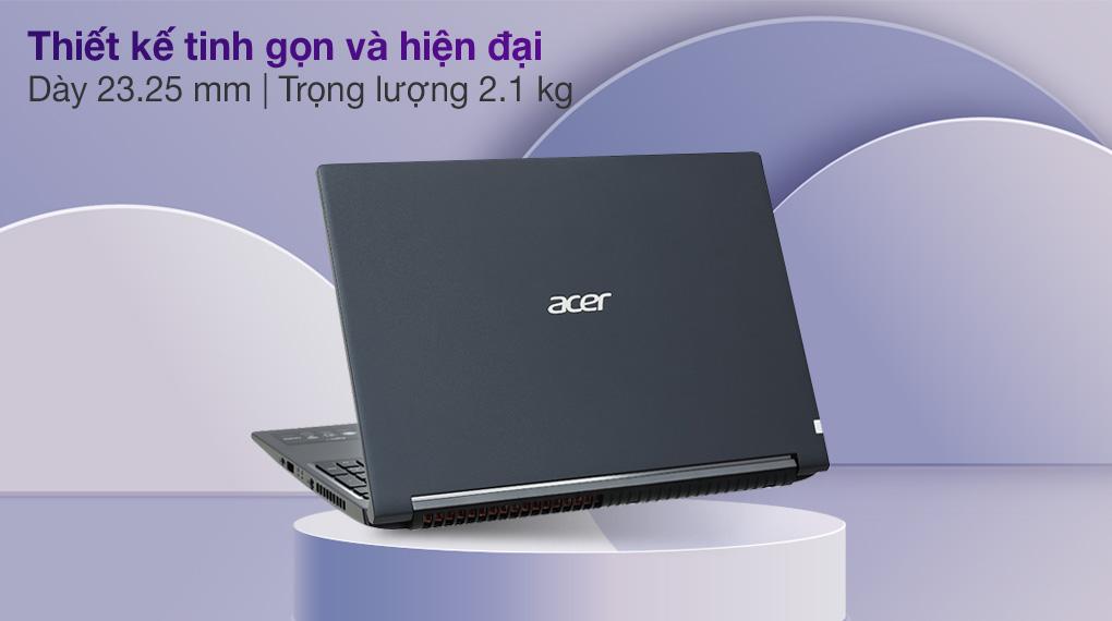 Acer Aspire 7 A715 41G R150 R7 3750H (NH.Q8SSV.004.) - Thiết kế