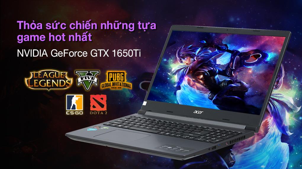 Acer Aspire 7 A715 41G R150 R7 3750H (NH.Q8SSV.004.) - Card đồ hoạ