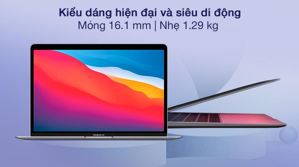 Apple MacBook Air M1 2020 (Z124000DE) - Thiết kế