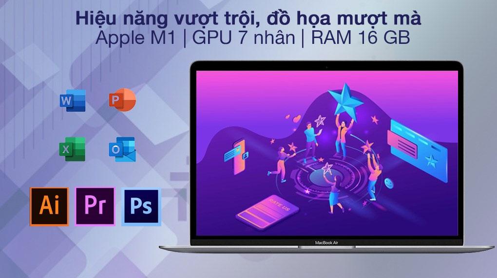 Apple MacBook Air M1 2020 (Z124000DE) - Cấu hình