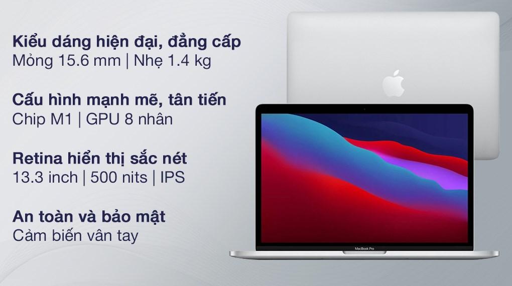 MacBook Pro M1 2020 Silver (Z11D000E5)