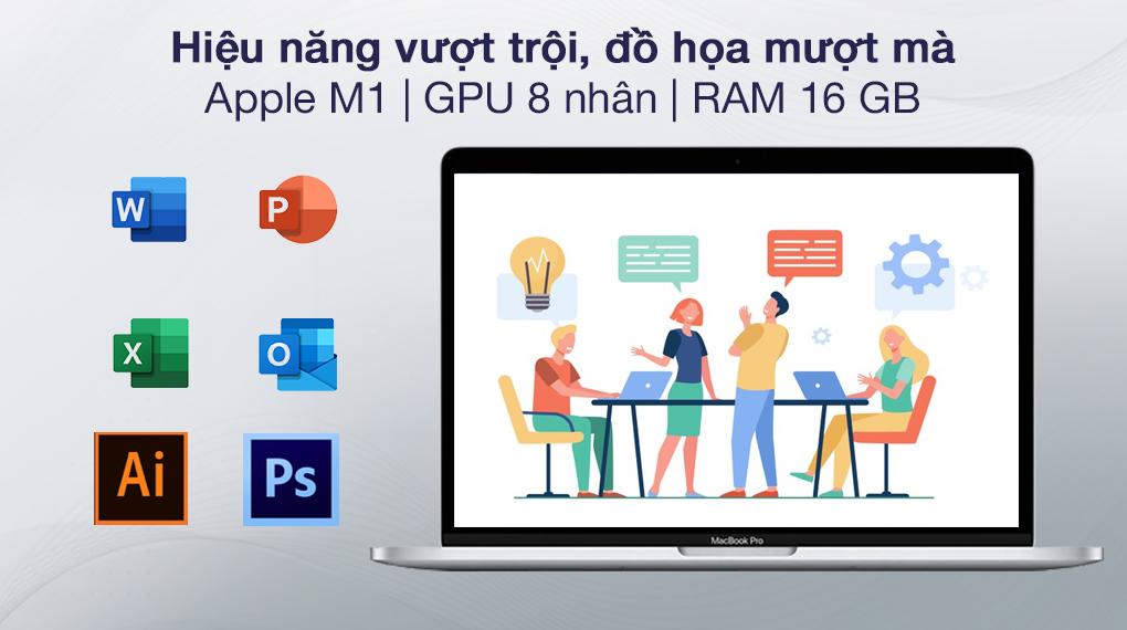 MacBook Pro M1 Silver (Z11D000E5) - Cấu hình