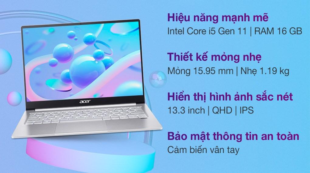 Acer Swift 3 SF313 53 518Y i5 1135G7 (NX.A4JSV.003)