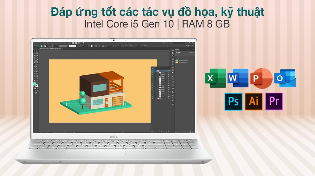 Dell Inspiron 7501 i5 10300H (N5I5012W) - Cấu hình