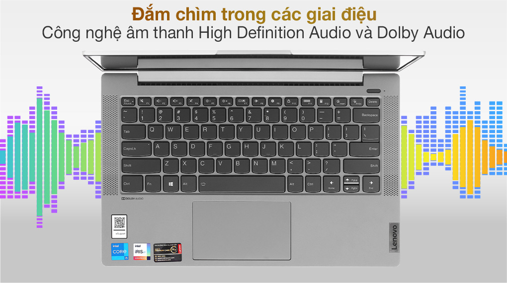 Lenovo IdeaPad 5 14ITL05 i5 1135G7 (82FE00KRVN) - Âm thanh