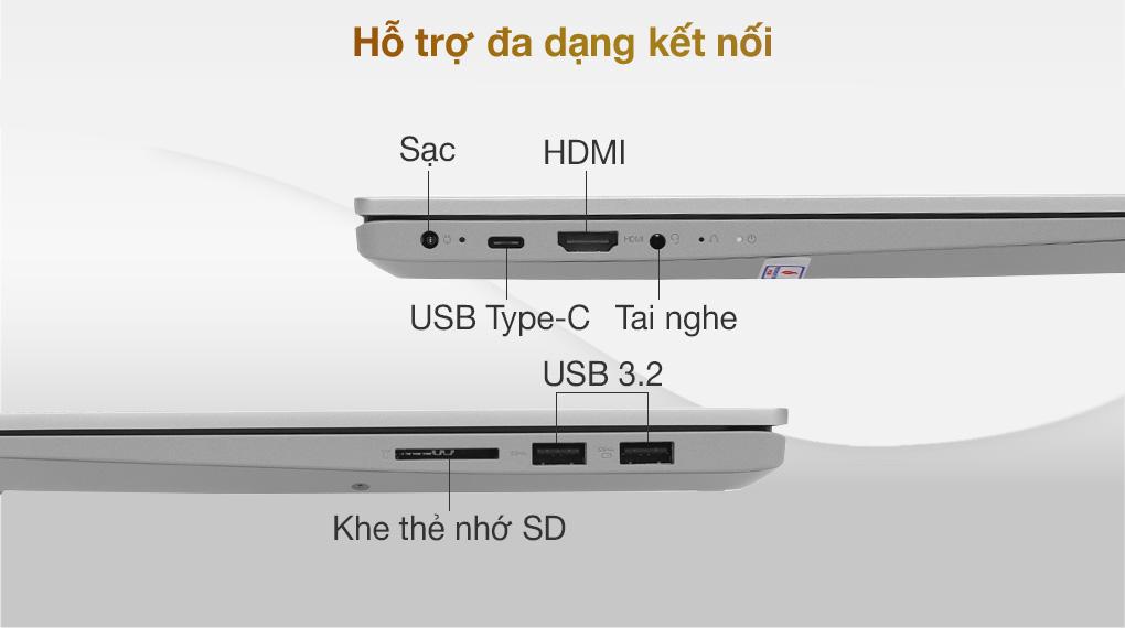 Lenovo IdeaPad 5 14ITL05 i5 1135G7 (82FE00KRVN) - Kết nối
