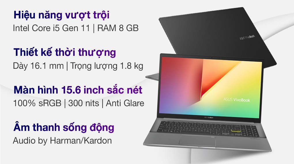 Asus VivoBook S533EA i5 1135G7 (BN293T)