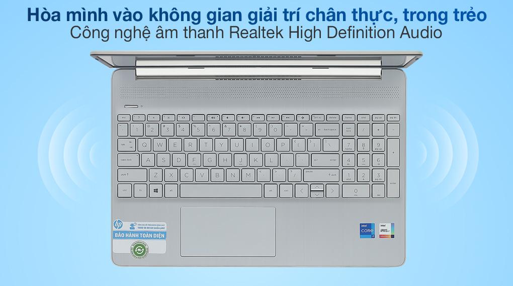 HP 15s fq2556TU i7 1165G7 (46M24PA) - Âm thanh