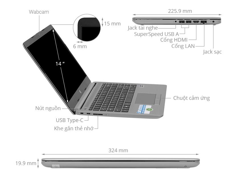HP 240 G8 i3 1005G1/4GB/512GB/Win10 (342G6PA)