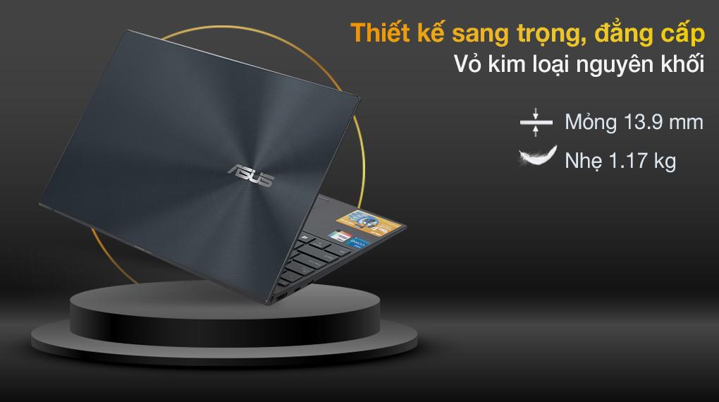 Asus ZenBook UX425EA i5 1135G7 (KI429T) - Thiết kế