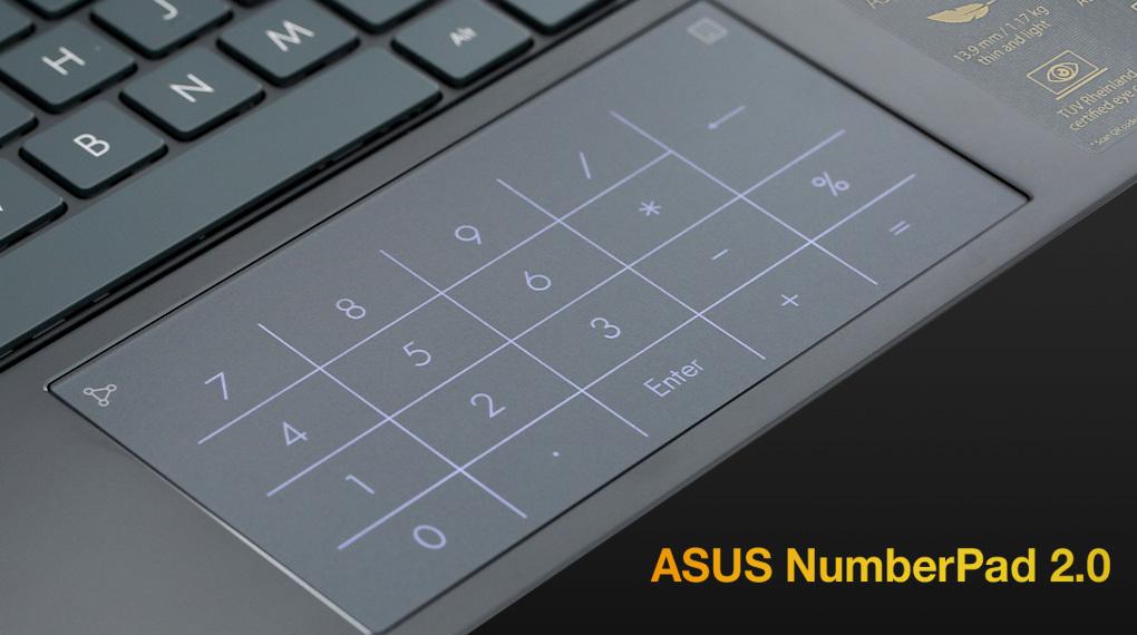 Asus ZenBook UX425EA i5 1135G7 (KI429T) - NumberPad 2.0