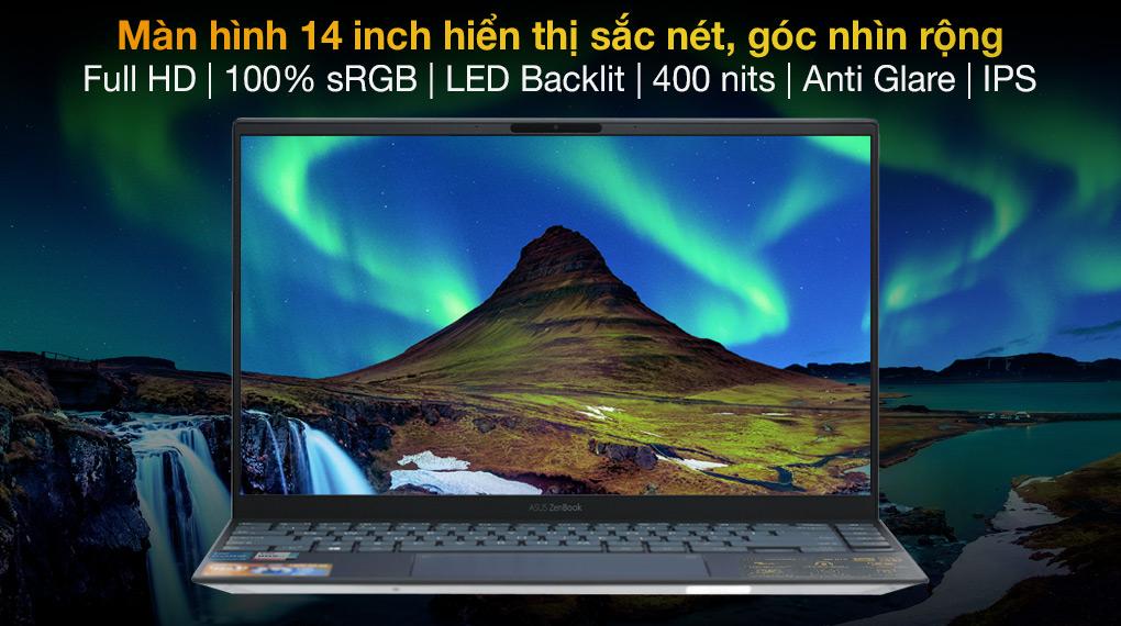 Asus ZenBook UX425EA i7 1165G7 (KI439T) - Hình ảnh