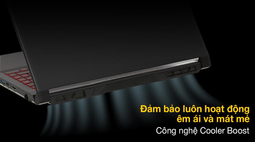 MSI Katana Gaming GF66 11UC i7 11800H (224VN) - Tản nhiệt