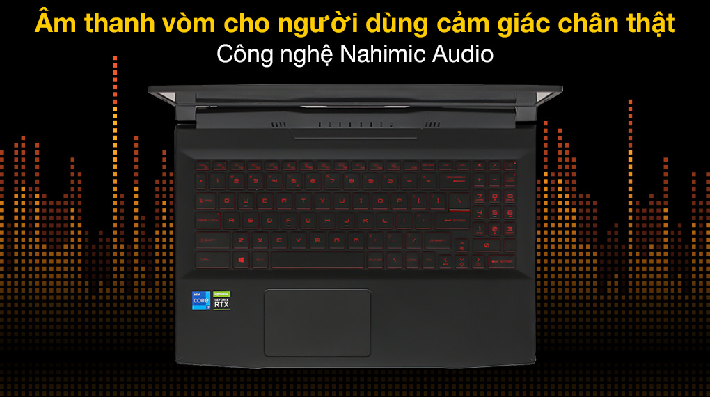 MSI Katana GF66 11UC i7 11800H (224VN) - Âm thanh
