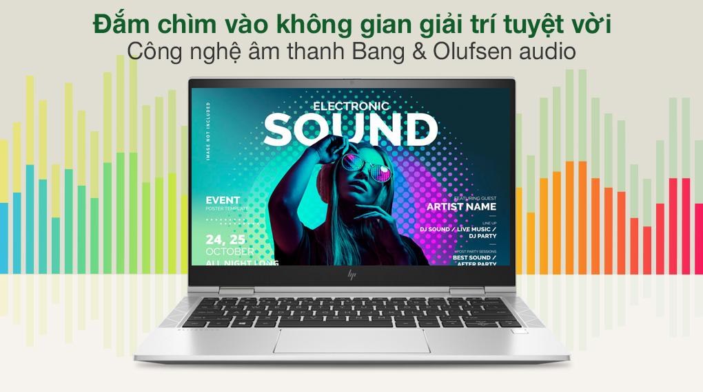 HP EliteBook X360 830 G8 i7 1165G7 (3G1A4PA) - Âm thanh