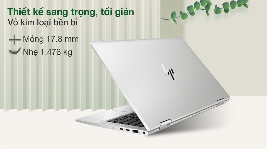 HP EliteBook X360 830 G8 i7 1165G7 (3G1A4PA) - Thiết kế
