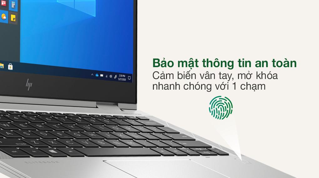 HP EliteBook X360 830 G8 i7 1165G7 (3G1A4PA) - Cảm biến vân tay