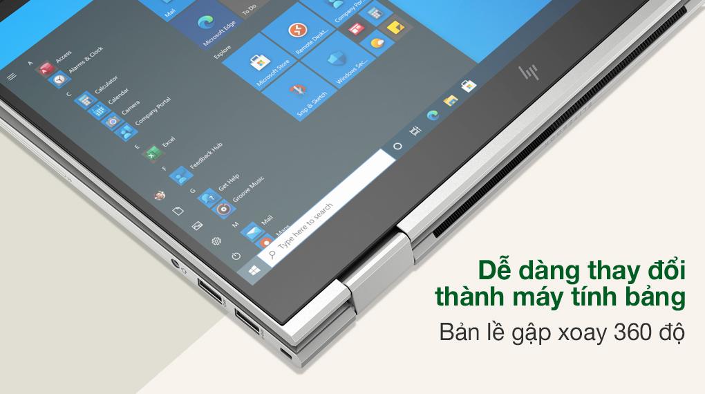 HP EliteBook X360 830 G8 i7 1165G7 (3G1A4PA) - Bản lề 360 độ