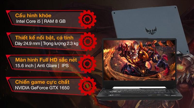Asus TUF Gaming FX506LH i5 10300H (BQ046T)
