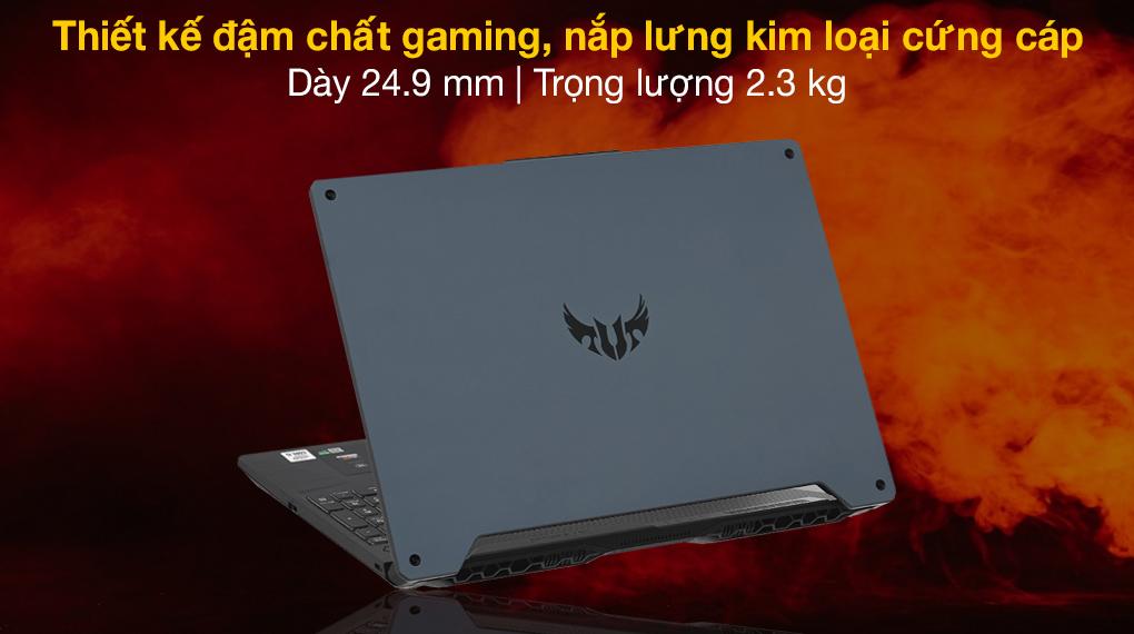Asus TUF Gaming FX506LH i5 10300H (BQ046T) - Thiết kế
