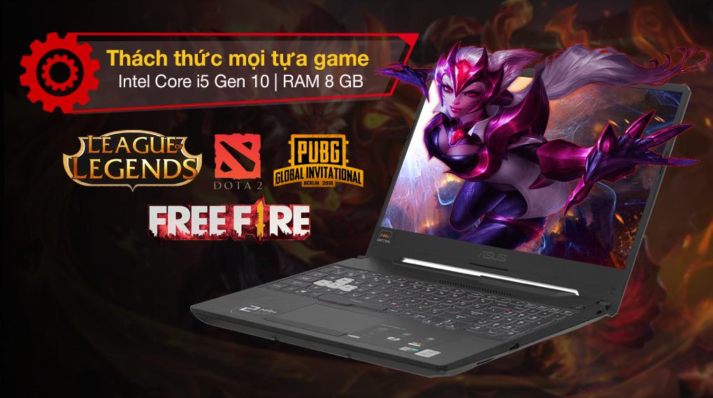 Asus TUF Gaming FX506LH i5 10300H (BQ046T) - Cấu hình