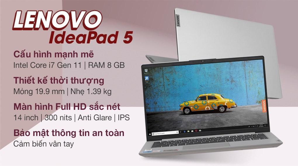 Lenovo IdeaPad 5 14ITL05 i7 1165G7 (82FE00KNVN)