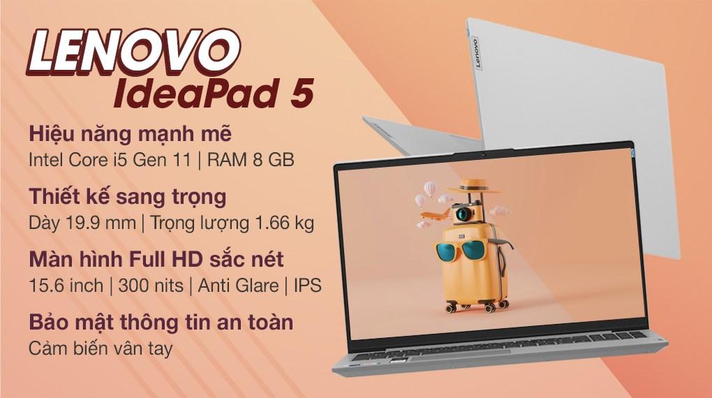 Lenovo Ideapad 5 15ITL05 i5 1135G7 (82FG00P5VN)