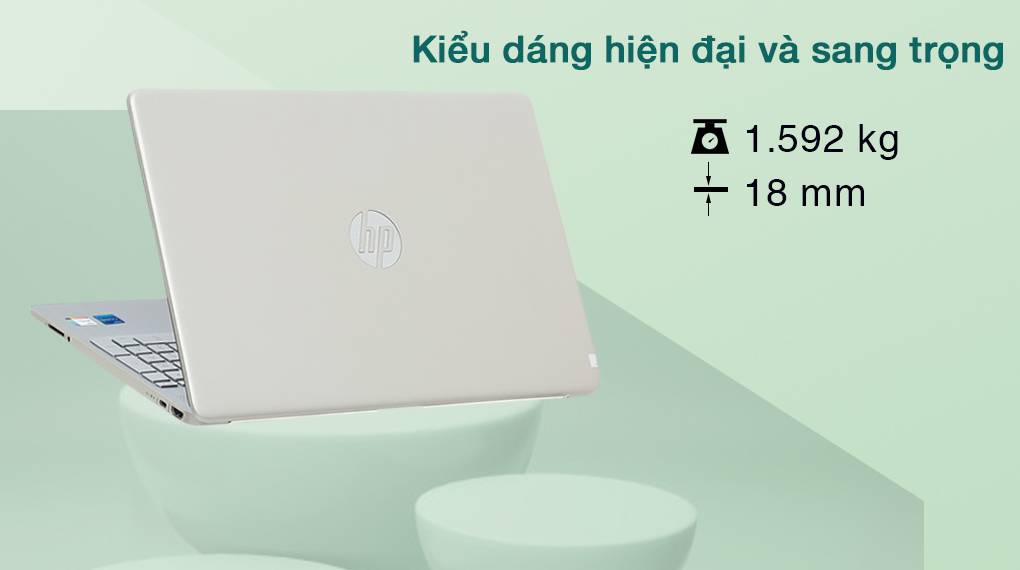 HP 15s fq2559TU i5 1135G7 (46M27PA) - Thiết kế