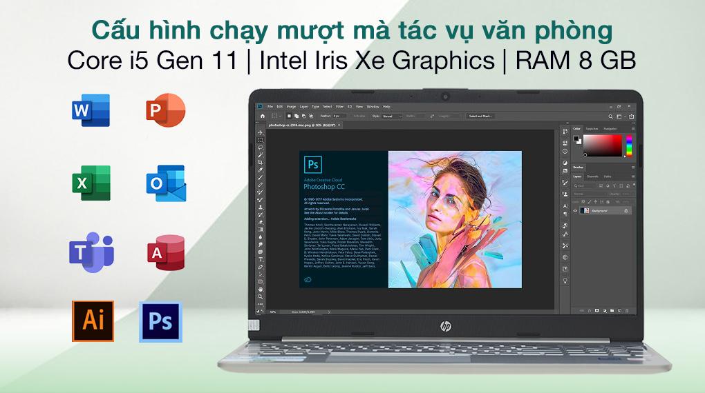 HP 15s fq2559TU i5 1135G7 (46M27PA) - Cấu hình
