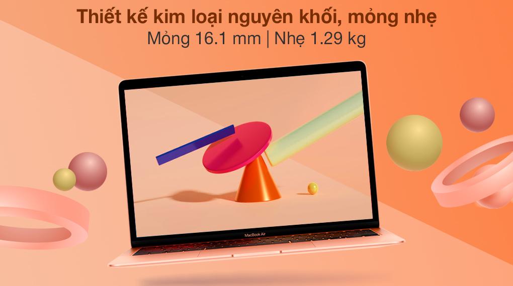 MacBook Air M1 2020 Gold (Z12A00050) - Thiết kế